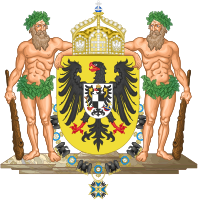 Middle Imperial coat of arms of Germany