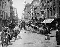 Lower East Side in the early 1900s