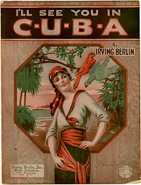 I'll See You in C-U-B-A, cover of 1920 sheet music