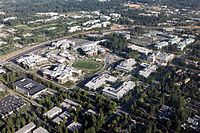 The west campus of the Microsoft Redmond campus