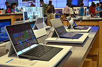 Surface Pro 3, part of the Surface series of laplets by Microsoft