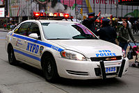 The New York Police Department (NYPD) is the largest police force in the United States.