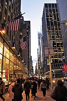 Fast-Paced Streets of New York City