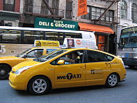 As of July 2010, the city had 3,715 hybrid taxis in service, the largest number of any city in North America.
