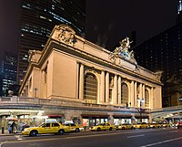 New York City is home to the two busiest rail stations in the US, including Grand Central Terminal.