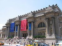 The Metropolitan Museum of Art, part of Museum Mile, is one of the largest museums in the world.