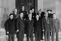 First official Canadian Citizenship ceremony, Supreme Court Building, Ottawa, 1947
