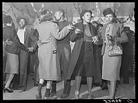 Dancing at a juke joint near Clarksdale, Mississippi, in 1939, by Marion Post Wolcott