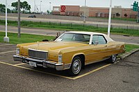 1974 Lincoln Continental Town Coupe