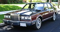 1982 Lincoln Continental Givenchy Edition