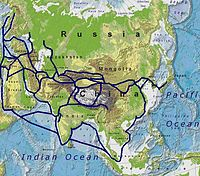 The Silk Road connected civilizations across Asia