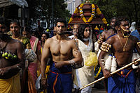 Hindu festival celebrated by Singapore's Tamil community