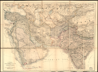 Map of western, southern, and central Asia in 1885<ref>{{cite web |url=http://www.wdl.org/en/item/11753/#institution=library-of-congress&page=17 |title=A Map of the Countries between Constantinople and Calcutta: Including Turkey in Asia, Persia, Afghanistan and Turkestan |website=Wdl.org |access-date=9 November 2017 |url-status=live |archive-url=https://web.archive.org/web/20171017220525/https://www.wdl.org/en/item/11753/#institution=library-of-congress&page=17 |archive-date=17 October 2017 |year=1885 }}</ref>