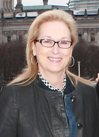 Streep at the Embassy of the United States, Berlin, in 2016