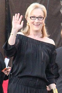 Streep at the 20th Screen Actors Guild Awards in January 2014