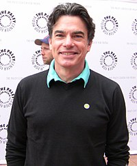 Peter Gallagher, American actor, musician, and writer (BA,1977)