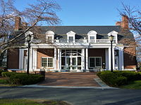 Bendetson Hall, on the Medford/Somerville campus, houses the Office of Undergraduate Admissions.