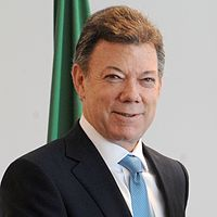 Juan Manuel Santos, President of Colombia and recipient of the 2016 Nobel Peace Prize (MA, 1981)
