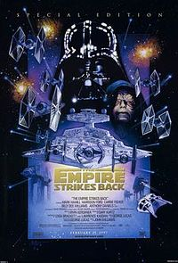 The 1997 theatrical release poster of the new Special Edition version of the film (art by Drew Struzan)