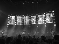Radiohead performing on the 2016 Moon Shaped Pool tour