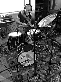 """Drummer Clive Deamer has joined Radiohead on tour since 2012. He also performed on the """"Staircase / The Daily Mail"""" single and A Moon Shaped Pool."""