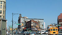 The Hub is the retail heart of the South Bronx, New York City.