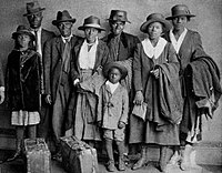 The Arthur family arrived at Chicago's Polk Street Depot on August 30, 1920, during the Great Migration.