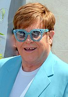 Elton John at the premiere of Rocketman at the 2019 Cannes Film Festival