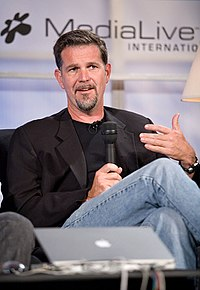 Reed Hastings, co-founder and the current chairman and CEO