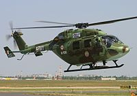 Indian Army's HAL Dhruv helicopter