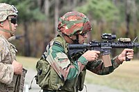 Indian Army Personnel during an exercise with US Army back in September 2019