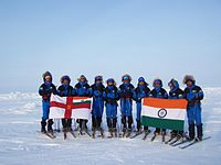 The Indian Navy expedition to North Pole, 2008