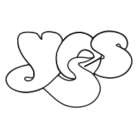 The band's logotype used since 1972 designed by artist Roger Dean