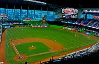 Panorama of Marlins Park