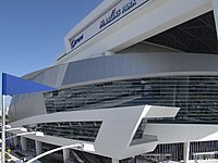Marlins Park is an abstract, contemporary building which combines baseball with art and the essence of Miami.