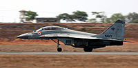 MiG-29K of the Indian Navy