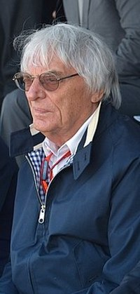 Bernie Ecclestone, the former Chief executive of the Formula One Group