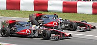 Lewis Hamilton and Jenson Button scored a 1–2 finish at the 2010 Canadian Grand Prix
