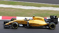 Renault returned to the sport in 2016 (pictured with Palmer)