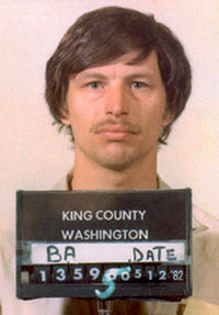 Ridgway after a 1982 booking