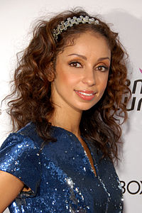 Mýa attending Susan G. Komen's 8th Annual Fashion for the Cure in Hollywood in September 2009.