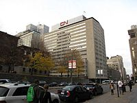 The headquarters of CN in Downtown Montreal