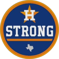 In the aftermath of the storm, the Houston Astros began wearing this patch during the 2017 season in support of the storm's victims in Houston. They eventually went on to win the World Series.