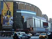Madison Square Garden is home to the Rangers and Knicks, and hosts some Liberty games
