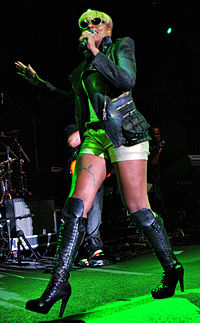 Blige onstage at the Raggamuffin Festival in Sydney, Australia in January 2011