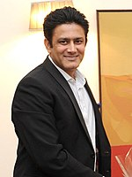 Anil Kumble, former captain of the Indian Test team and spin legend, is the highest wicket-taker for India in international cricket.