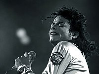 Jackson during his Bad tour in Vienna, June 1988
