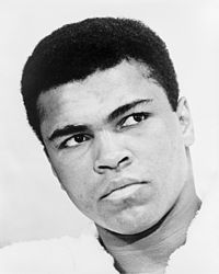 Heavyweight champion Muhammad Ali was a typical example of an out-fighter.