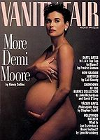 August 1991 More Demi Moore cover