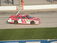 Busch during practice for the 2012 Samsung Mobile 500 at Texas Motor Speedway